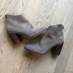 Dolce Vita Stevie Booties- light taupe